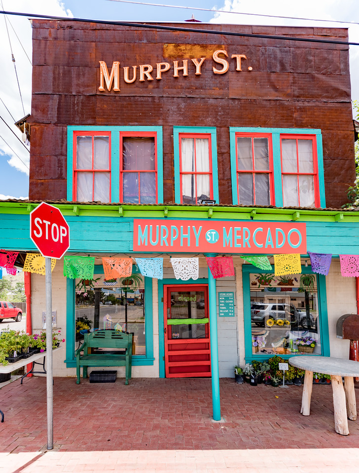 Murphy St. Mercado in Alpine, TX.