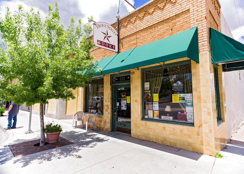 Front Street Book store.