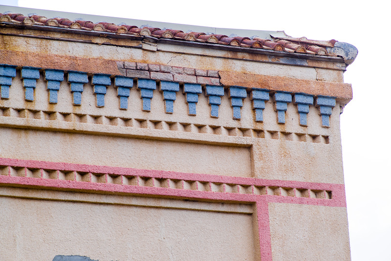 Painstaking painting details on display in Alpine, TX.