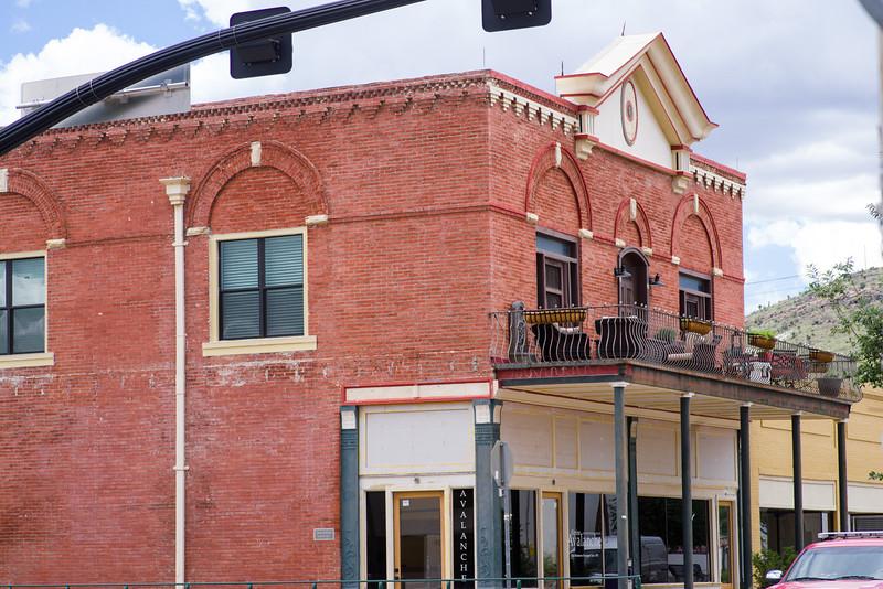 Red brick building in Alpine, TX