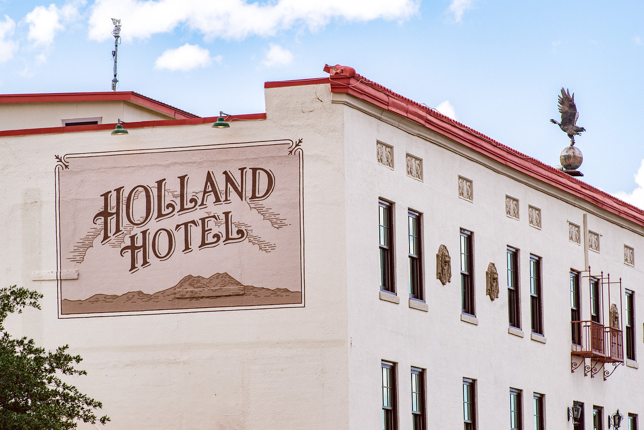 Holland Hotel in Alpine, TX