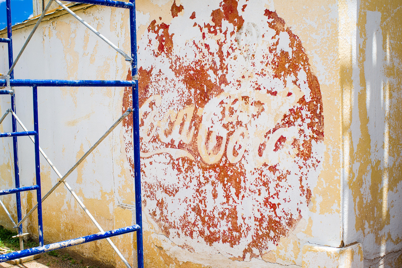 I'm hoping the Coca Cola sign stays in this restoration.