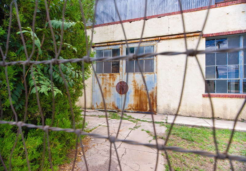Rusty doors – a photographer magnet.