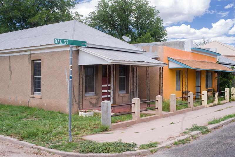 Oak Street, Marfa, TX.