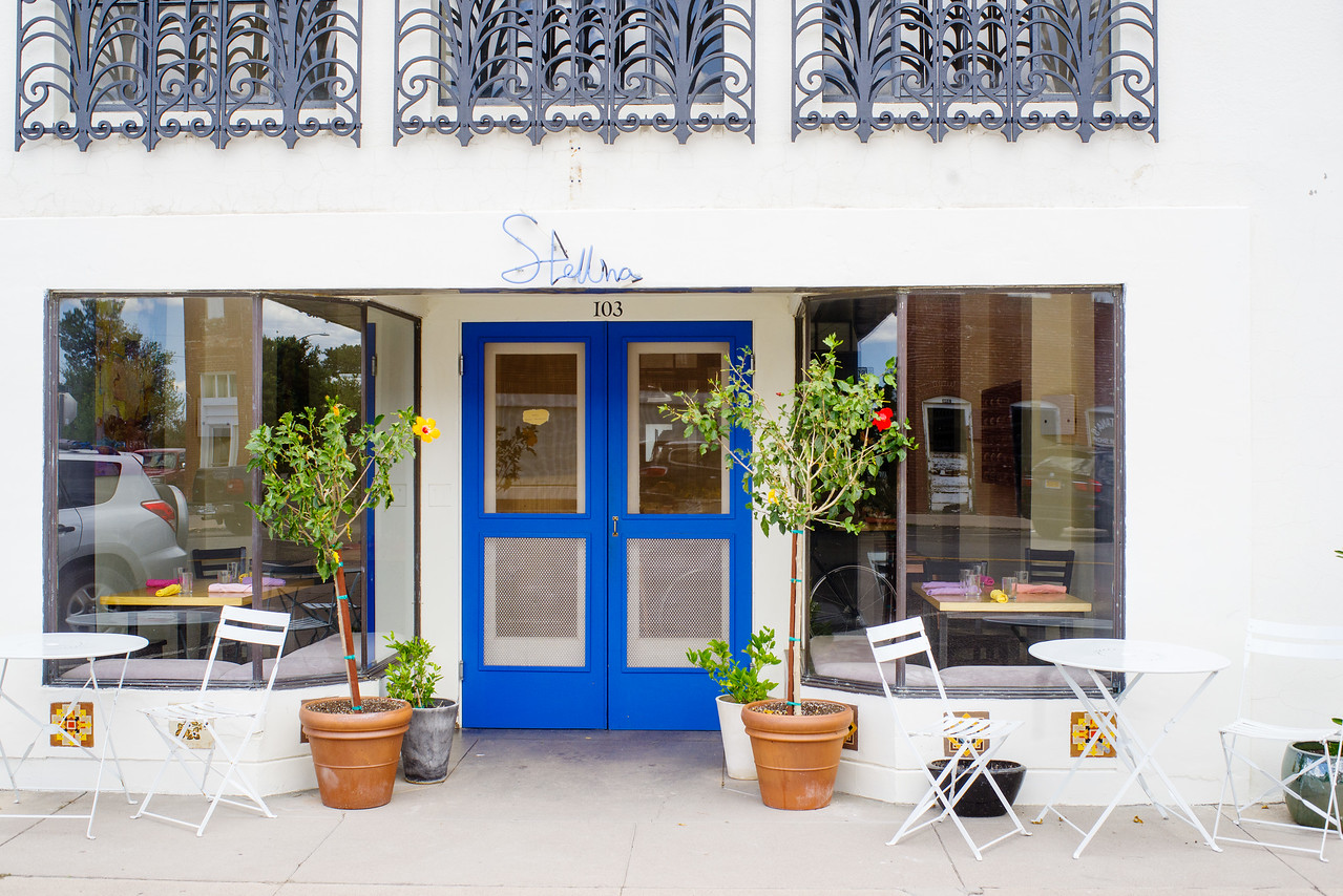 Stellina is an attractive restaurant in Marfa, TX, with an engaging atmosphere.