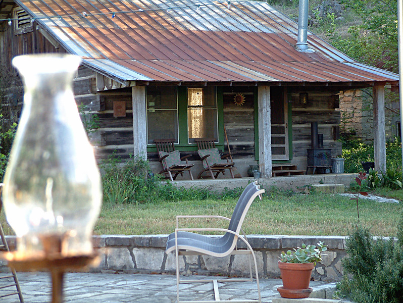 Cabin in Dripping Springs,Texas.