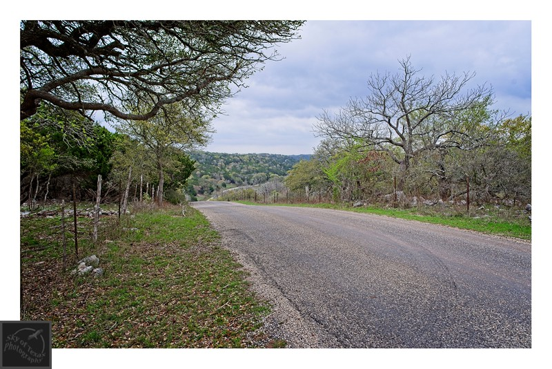Texas Hill Country back road.