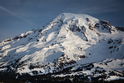 Mt Rainier - The Clarity of the Morning Light