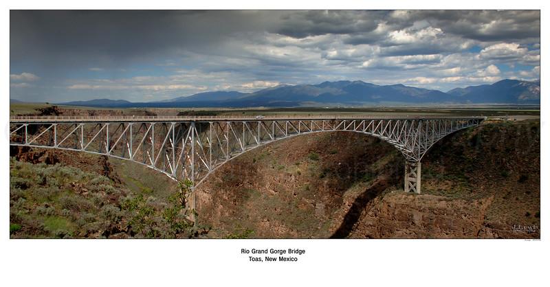 Rio Grand Gorge Bridge NM