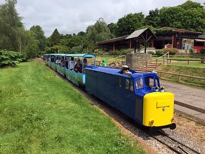 Paignton Zoo railway