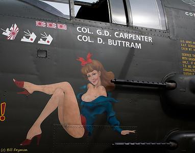 Fuselage art - B-25 Mitchell