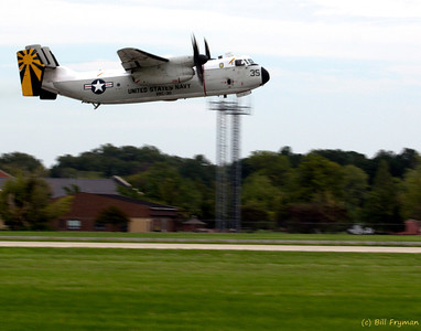 C-2A Greyhound (also known as a COD - Carrier Onboard Delivery)