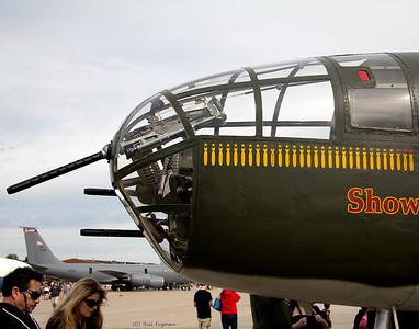 Nose gun - B-25 Mitchell