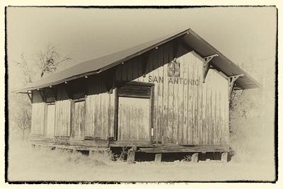 Old depot, San Antonio, NM