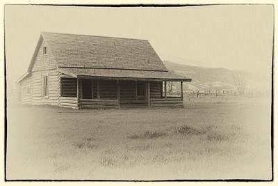 Cabin, Mormon Row, Grand Teton National Park, WY