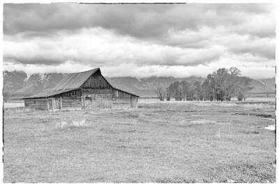 Barn, Mormon Row, Grand Teton National Park, WY