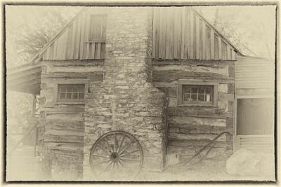 Restored cabin, Branson, MO