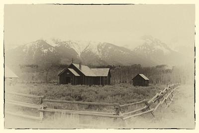 Chapel, Grand Teton National Park, WY