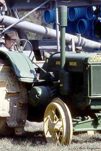 John Deere, Model D, steel wheels