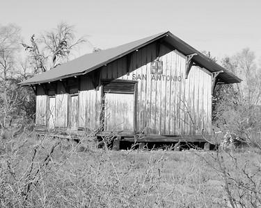 San Antonio Station (Black & White)