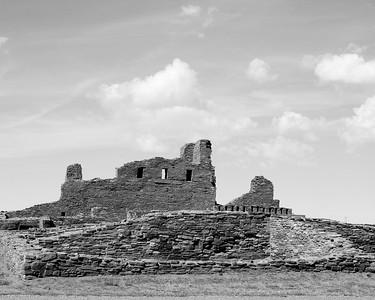 Abo, Salinas Pueblo Missions (Black & White)