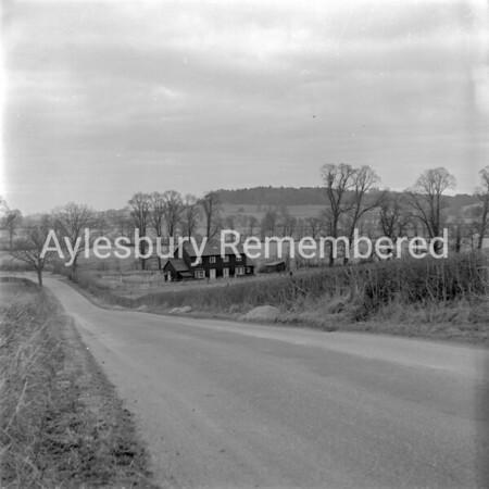 Watbridge Farm Cottages, Ashendon Feb 24th 1962