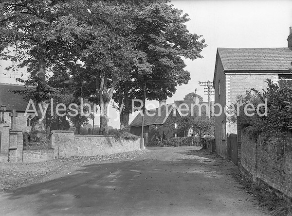 Cublington Road, Aston Abbotts, Oct 1947