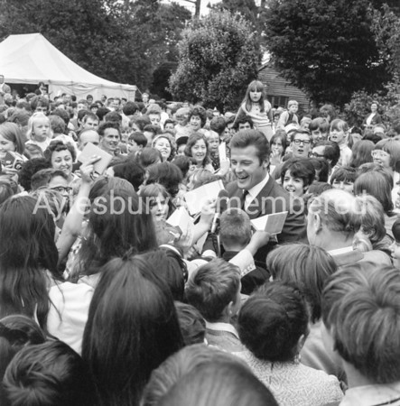 Roger Moore at Aston Clinton, June 27 1968