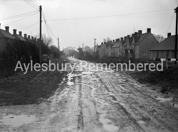 Great Lane, Bierton, Mar 25th 1955