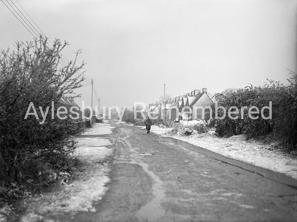 Great Lane, Bierton, Apr 25th 1950