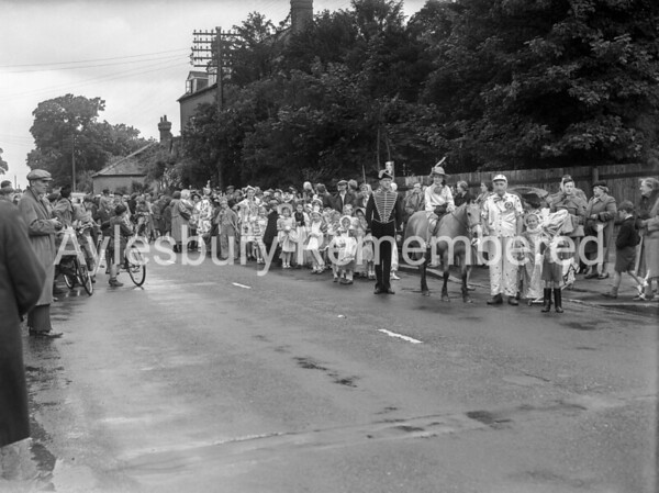 Coronation parade, Bierton, June 2nd 1953