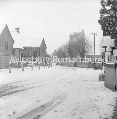 Upper Church Street, Cuddington, Mar 9th 1970