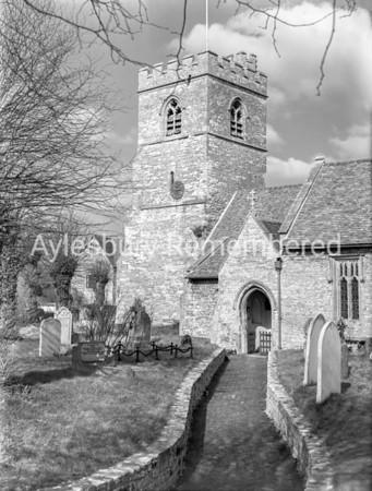 St Nicholas' Church, Cuddington, Mar 19 1958