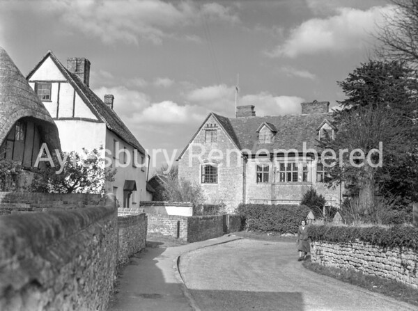 Upper Church Street, Cuddington, Apr 2 1958