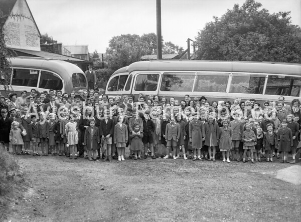 School Outing to Chessington Zoo, Great Kimble, July 3rd 1952