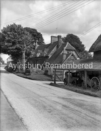Station Road, Haddenham, July 30th 1954