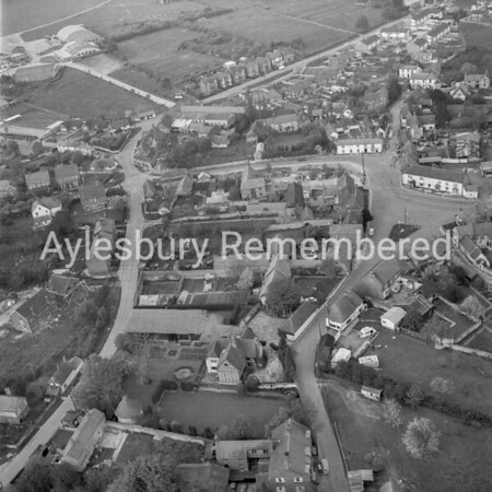 Haddenham aerial, May 7th 1966
