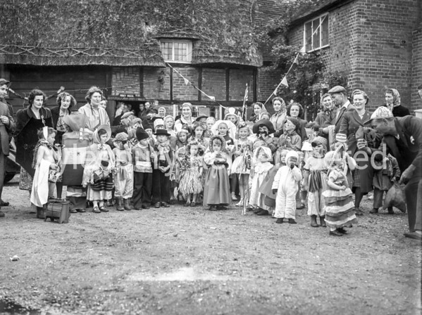 Rowsham fancy dress, June 2 1953