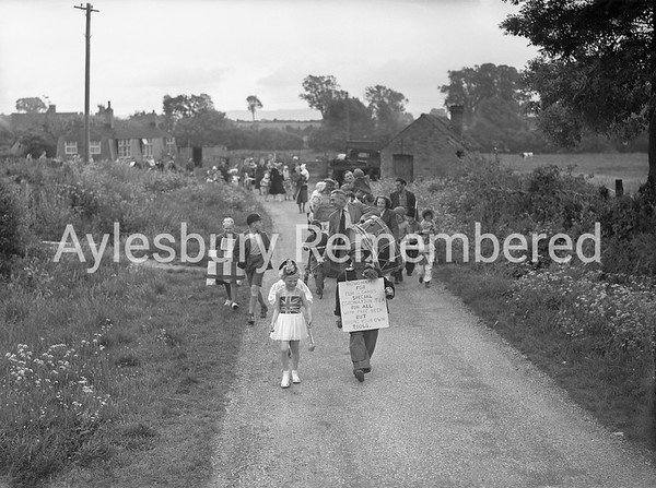 Coronation celebrations at Rowsham, June 2nd 1953