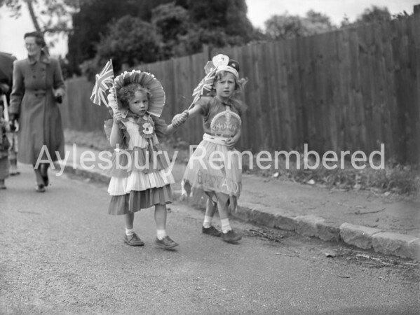 Coronation celebrations at Rowsham, June 2 1953