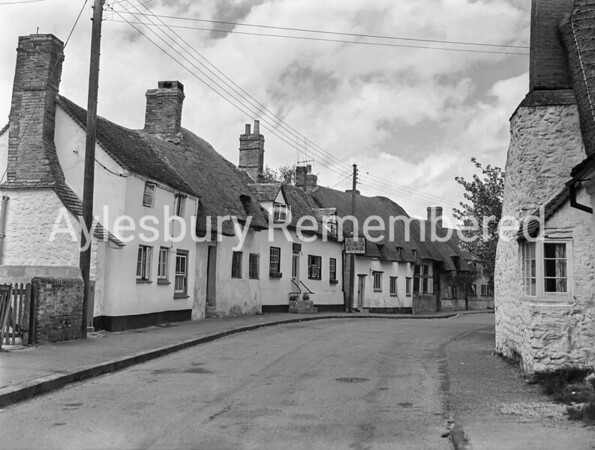High Street, Long Crendon, May 1958