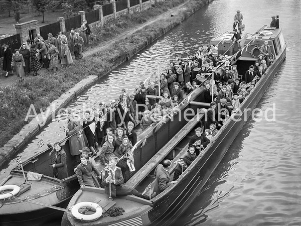 Coronation celebrations at Marsworth, June 2 1953
