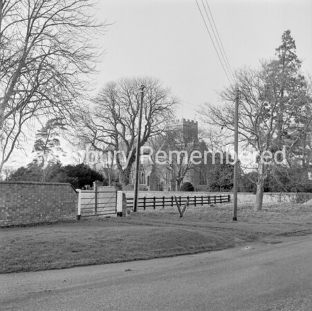 Willen Road, Milton Keynes, Jan 19th 1967