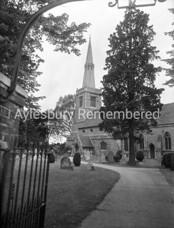 St Mary's Church, Princes Risborough, July 1956