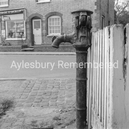 Quainton village pump, Feb 6th 1969