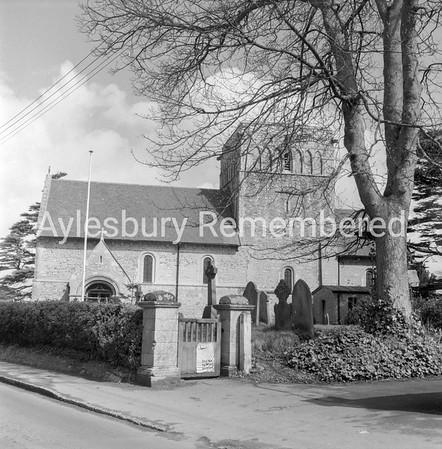St Michael & All Saints Church, Stewkley, Apr 29 1969