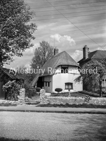 Risborough Road, Stoke Mandeville, May 1955