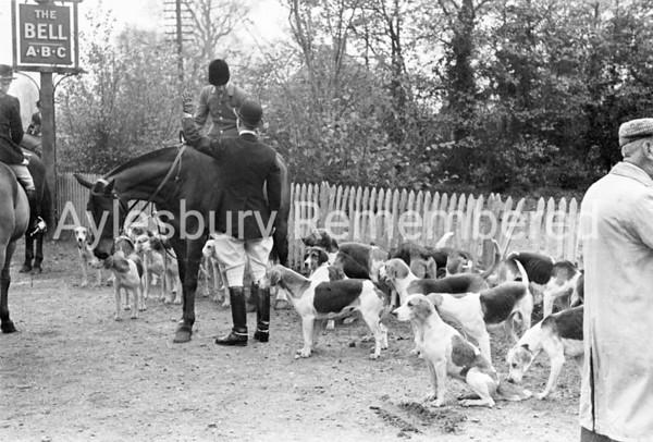 Old Berkeley Beagles at Stoke Mandeville, Nov 19 1945