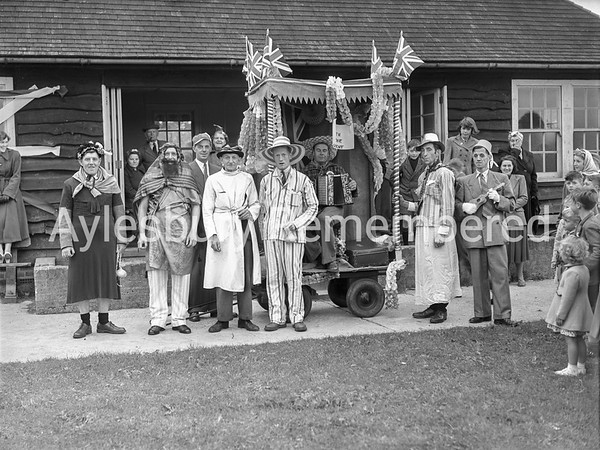 Fancy dress for Coronation at Waddesdon, June 2nd 1953