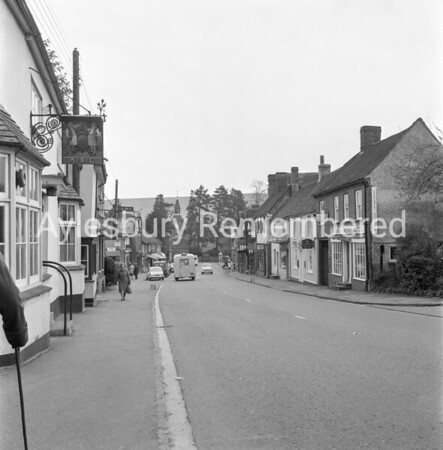 High Street, Wendover, May 1965